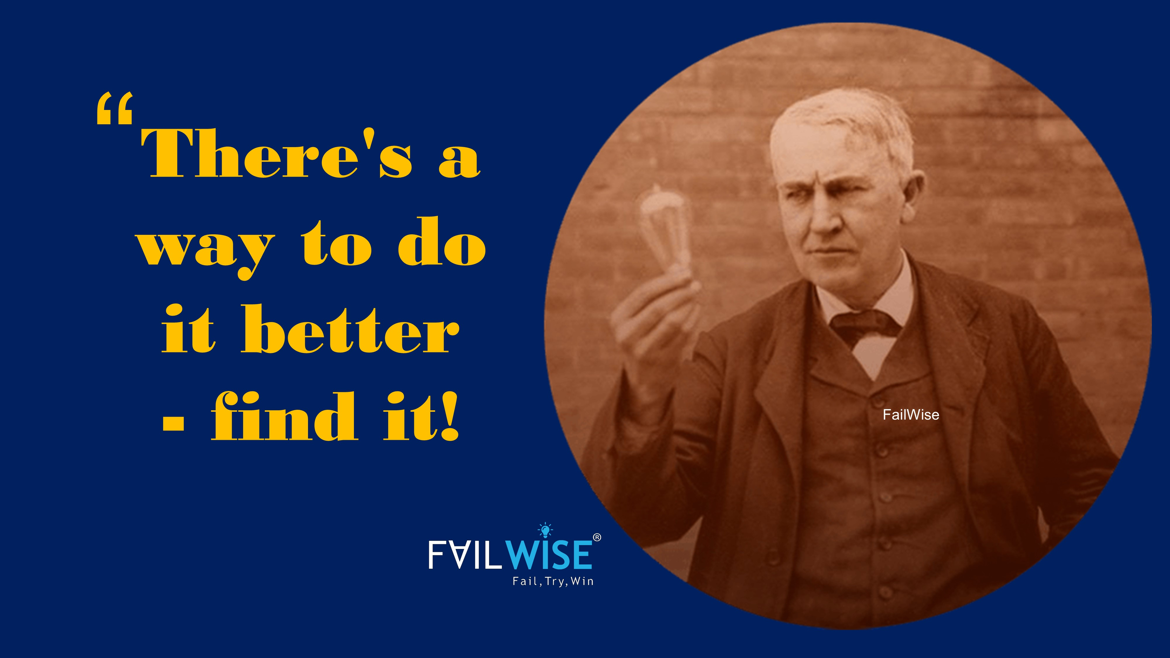 Failures to Success: Story behind Thomas Elva Edison's Inventions