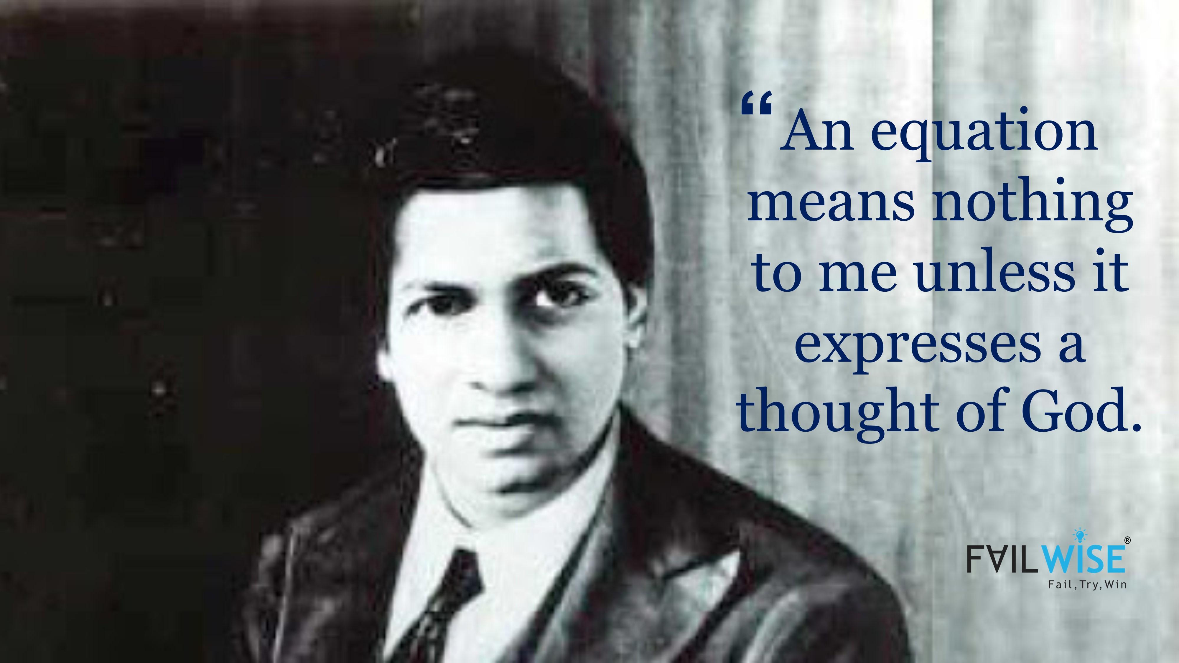 Struggle & Failure Story of Great Indian Mathematician-Srinivasa Ramanujan
