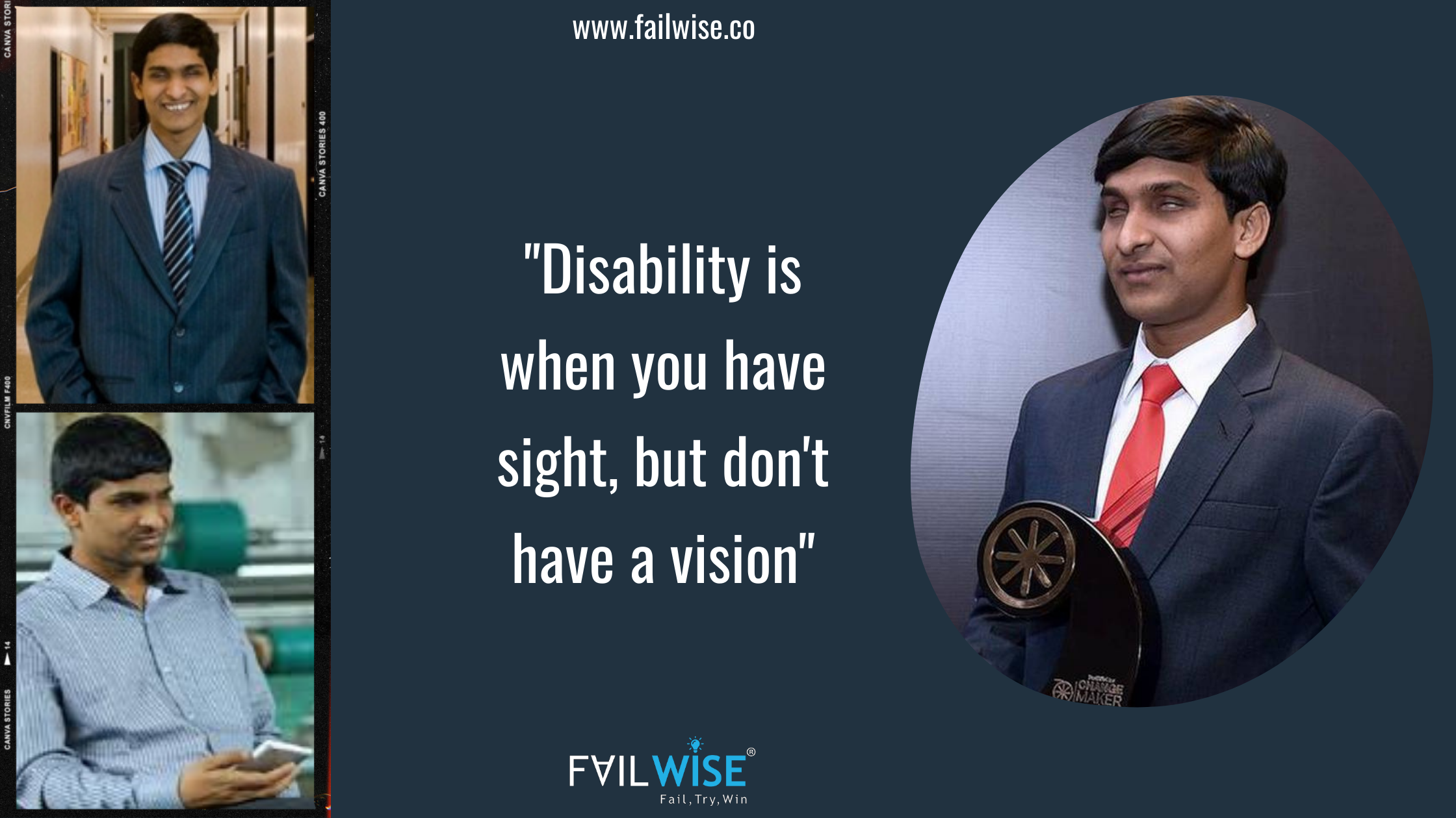 A Journey That Inspires Every Entrepreneur: The Story of a Blind Industrialist, SRIKANTH BOLLA
