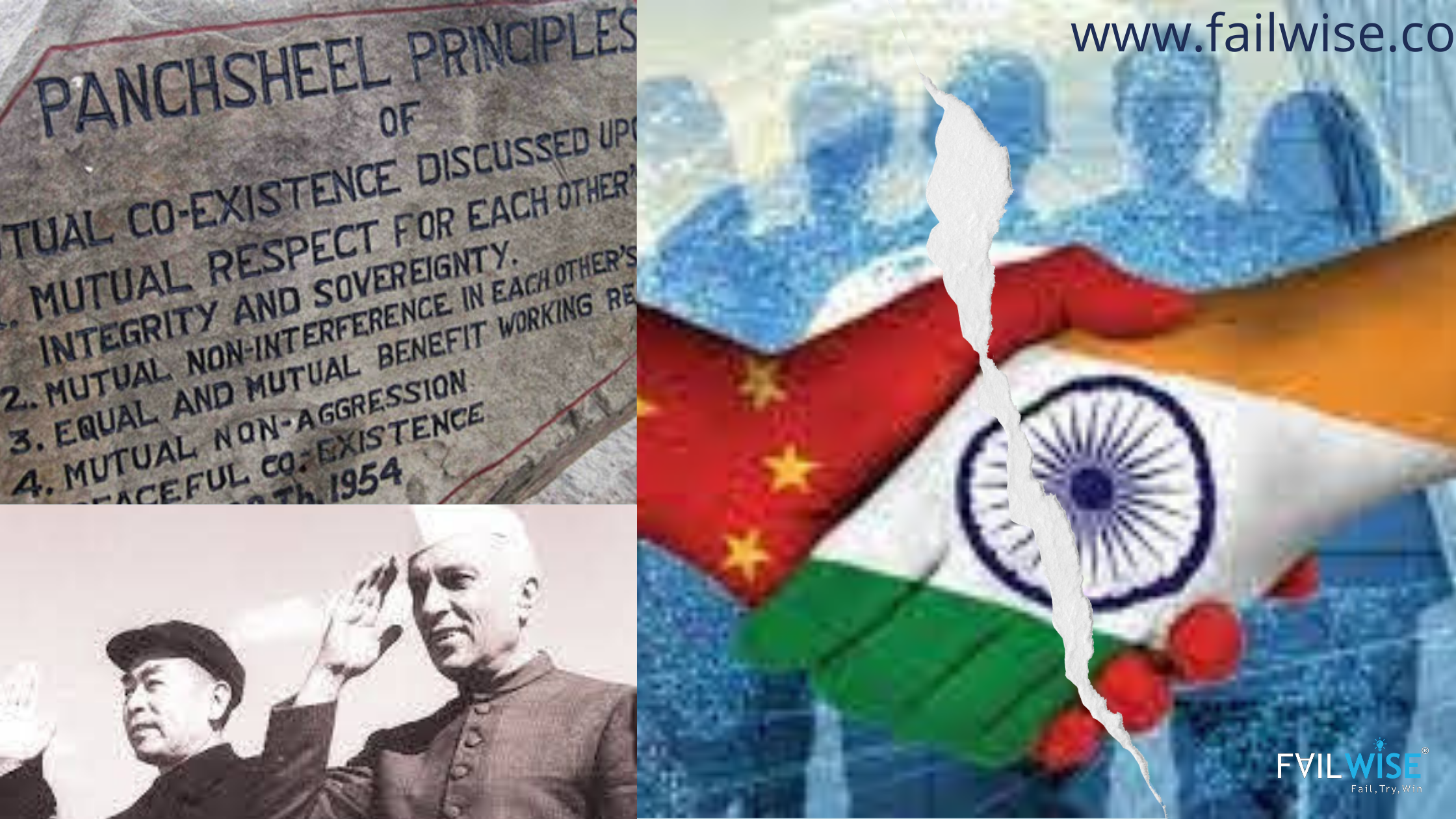 जानिए पंचशील सिद्धांत: वैश्विक शांति के आधारस्तम्भ एवं चीन के द्वारा उसकी अवमानना