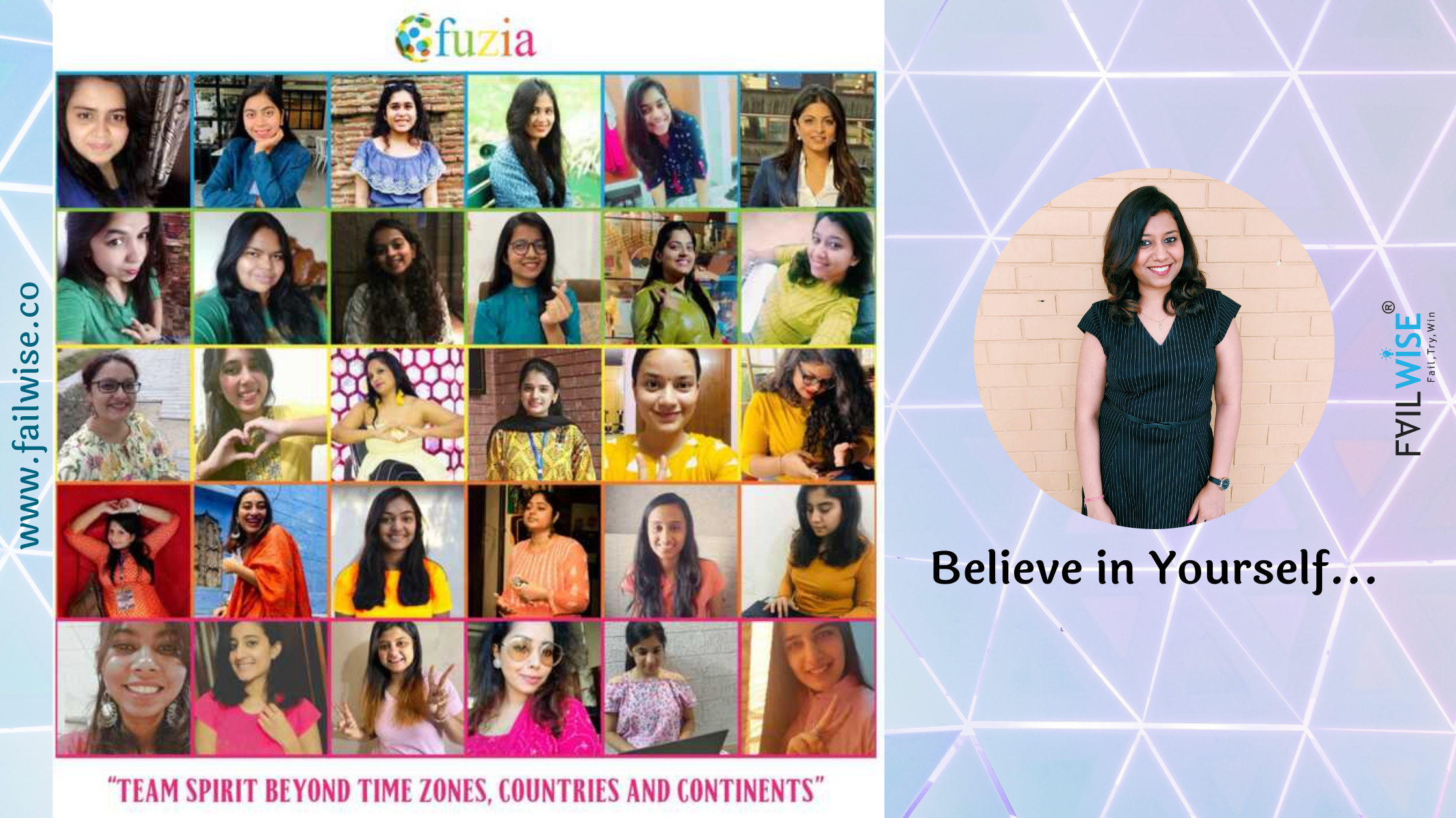 """Be the reason for your own happiness and never hesitate to dream big"" Meet Shraddha Varma, Co-Founder of Fuzia"