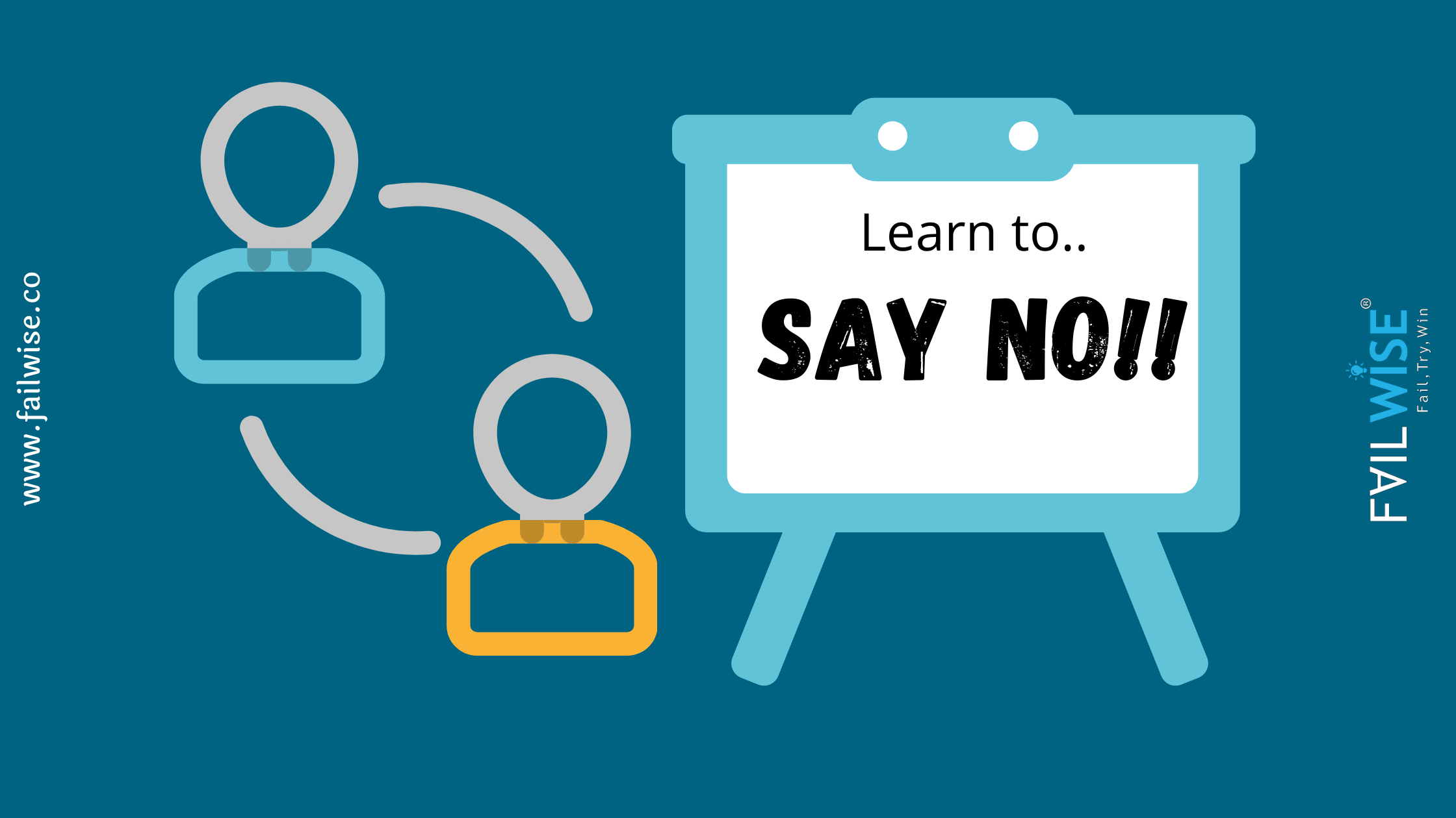 How to say no in business deals?