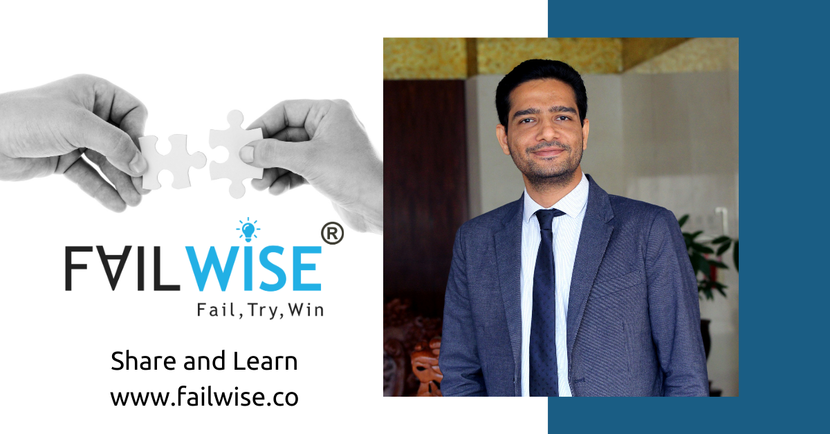 Your failures are not your choice but learnings are, FailWise, A new social blogging platform